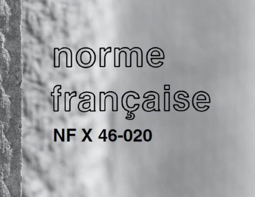 publication de la nouvelle norme amiante nf x46 020 18. Black Bedroom Furniture Sets. Home Design Ideas