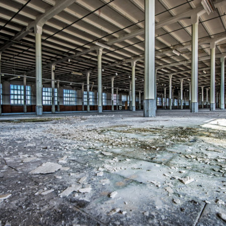 Bâtiment avant démolition